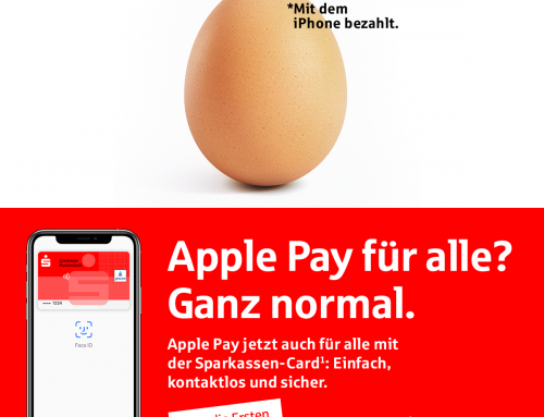 Sparkasse mit Apple Pay